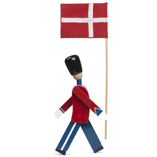 Kay Bojesen(カイ・ボイスン)STANDARD-BEARER 衛兵 旗持ち39482 木製オブジェ デンマーク