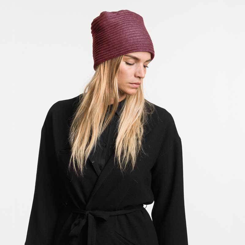【新色】Pleece HAT(プリース・ハット)ボルドー DESIGN HOUSE stockholm デザインハウス・ストックホルム