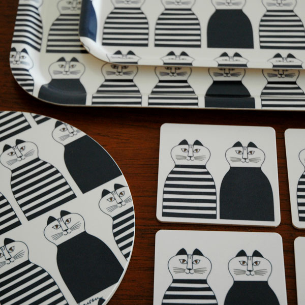 "Wooden Coaster""Minmi(ミンミ)""/木製コースター/Lisa Larson(リサラーソン)/opto design"
