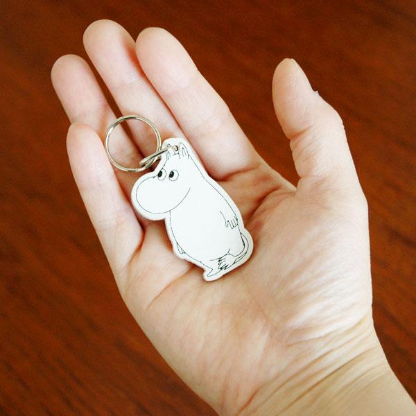 ムーミン白樺製キーリング APRILMAI(アプリルマイ) MOOMIN WOODEN KEYRING ムーミングッズ