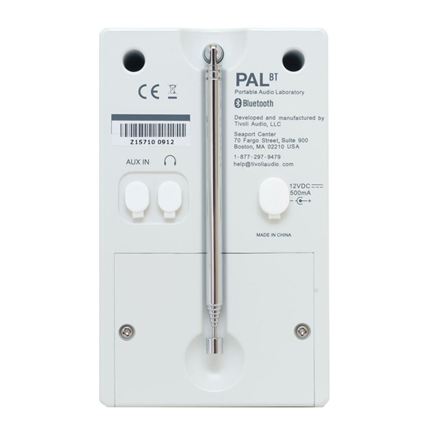 PAL BT(パル・ビーティー)Bluetooth対応モデル/ブラック×ホワイト/ポータブルラジオ/Tivoli Audio(チボリオーディオ)