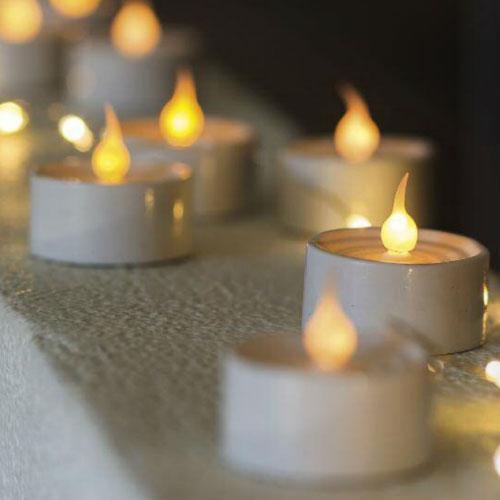 LONE 6個セットLEDティーライトキャンドル Sirius(シリウス) デンマーク クリスマスライト