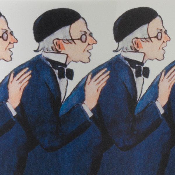 エルサべスコフ・マグカップUncle Blue(青おじさん)・DESIGN HOUSE stockholm(デザインハウス ストックホルム)
