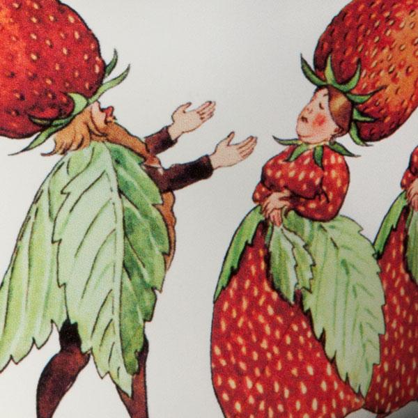 エルサべスコフ・ボウルThe Strawberry family(ストロベリーファミリー)・DESIGN HOUSE stockholm(デザインハウス ストックホルム)
