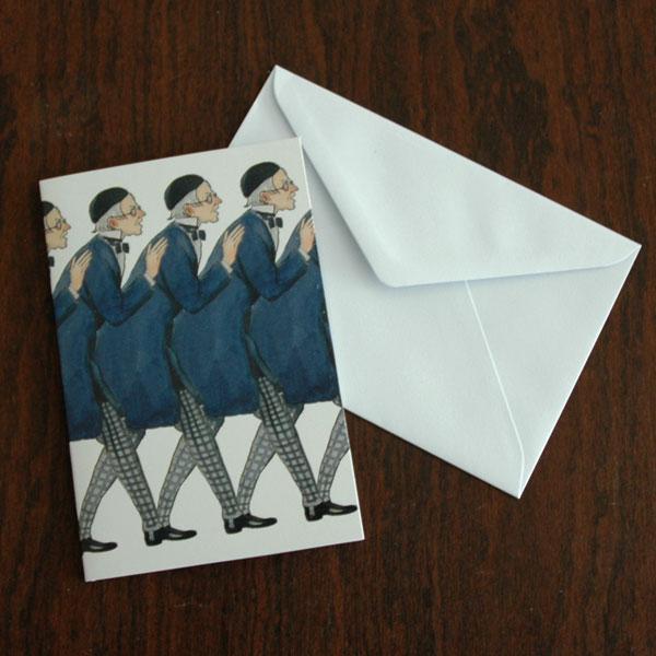 エルサべスコフ・カード・Uncle Blue(青おじさん)・DESIGN HOUSE stockholm(デザインハウス ストックホルム)