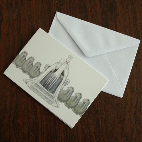 エルサべスコフ・カード・King Winter(キング・ウィンター)・DESIGN HOUSE stockholm(デザインハウス ストックホルム)
