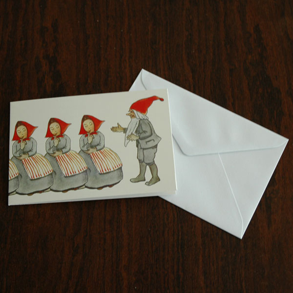 エルサべスコフ・カード・Elf Family(エルフ・ファミリー)・DESIGN HOUSE stockholm(デザインハウス ストックホルム)