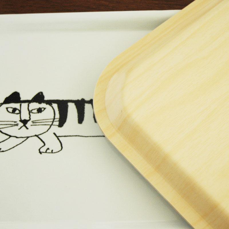 Sketch Mikey Tray(スケッチ・マイキー・トレイ) Sサイズ/木製トレイ/Lisa Larson(リサラーソン)/opto design
