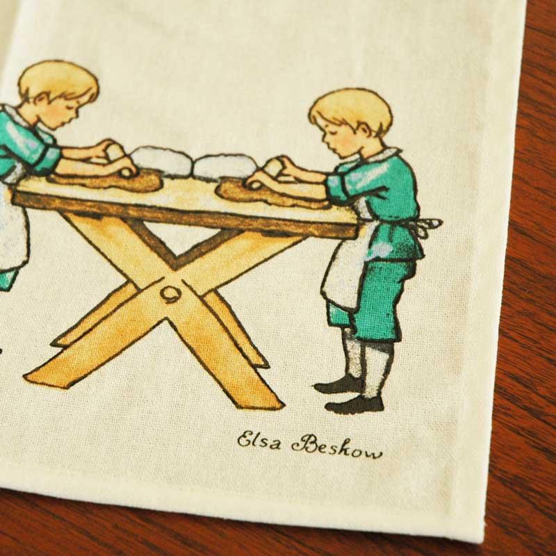 エルサべスコフ・キッチンタオル45×65cm Peter is bakingDESIGN HOUSE stockholm(デザインハウス ストックホルム)