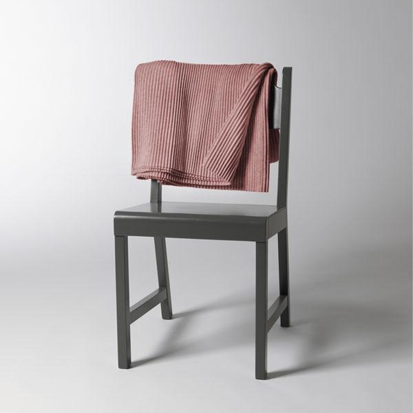 Pleece Throw(プリース・スロー)ピンク ひざ掛け DESIGN HOUSE stockholmデザインハウス・ストックホルム