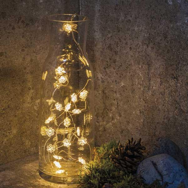 "Chain""Snowflake"" LEDイルミネーションライト Sirius(シリウス) デンマーク クリスマスライト"