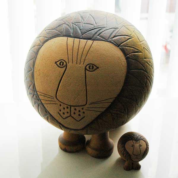 Lion(ライオン)マキシサイズ/Lisa Larson(リサ・ラーソン)/北欧オブジェ・置物