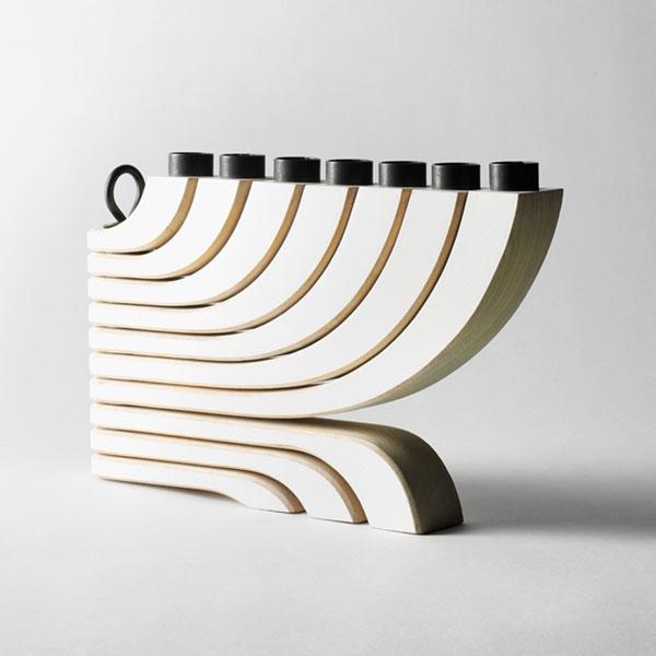 Nordic Light Candleholder 7arms white(ノルディックライトキャンドルホルダー)ホワイトDESIGN HOUSE stockholm(デザインハウス ストックホルム)