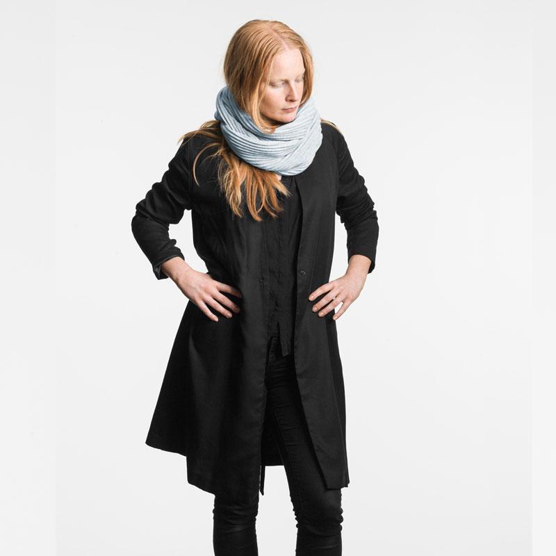 Pleece Snood(プリース・スヌード)ペールブルー マフラー・ネックウォーマー DESIGN HOUSE stockholmデザインハウス・ストックホルム