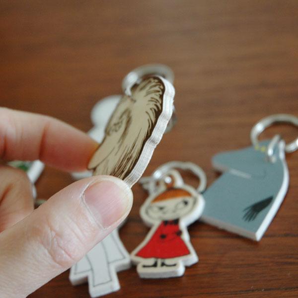 ご先祖さま・白樺製キーリング/APRILMAI(アプリルマイ)/MOOMIN WOODEN KEYRING/ムーミングッズ