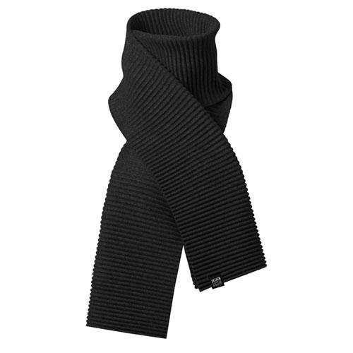 Pleece Long scarf(プリース・ロングスカーフ)マフラー ブラック DESIGN HOUSE stockholmデザインハウス・ストックホルム