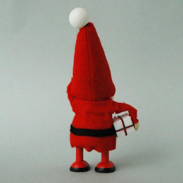 サンタクロース プレゼントを持ったサンタNORDIKA design(ノルディカ・デザイン)エストニア・ハンドメイド木製オブジェ