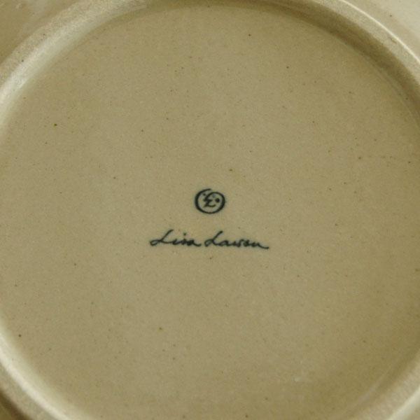 益子の皿・ねこ・黒/青/5.5寸皿/Japan Seriesジャパンシリーズ・益子焼/Lisa Larson(リサ・ラーソン)