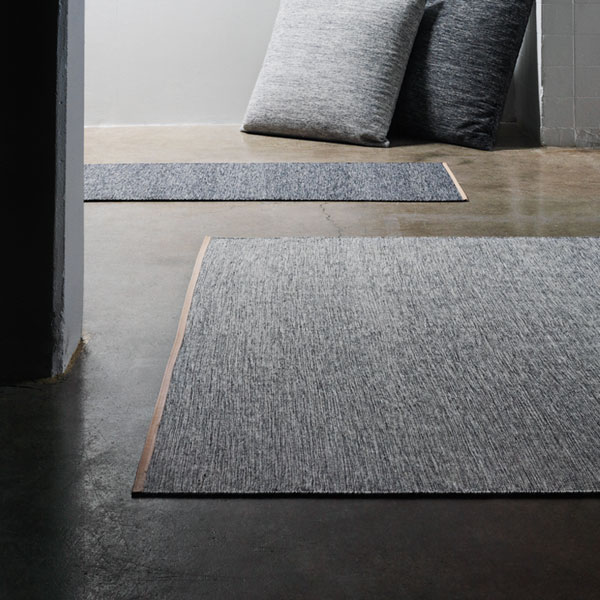 BJORK RUG(ビジョーク・ラグ)70×130cm/ブラウンブルー/DESIGN HOUSE stockholm(デザインハウス ストックホルム)