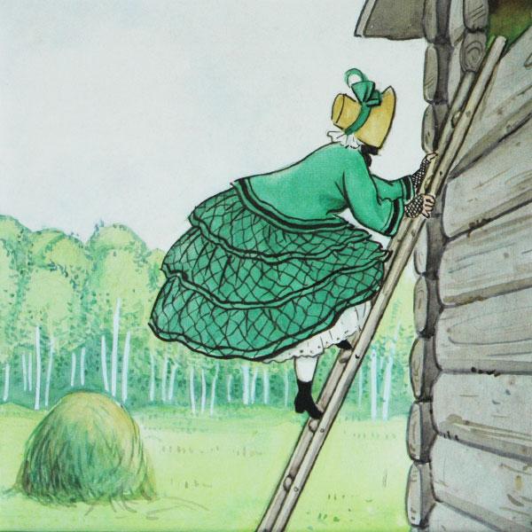 エルサべスコフ・マグカップAunt Green(みどりおばさん)・DESIGN HOUSE stockholm(デザインハウス ストックホルム)