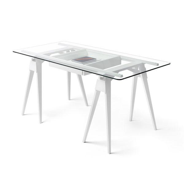 ARCO DESK (アルコ・デスク)White(ホワイト) DESIGN HOUSE stockholm(デザインハウス ストックホルム)