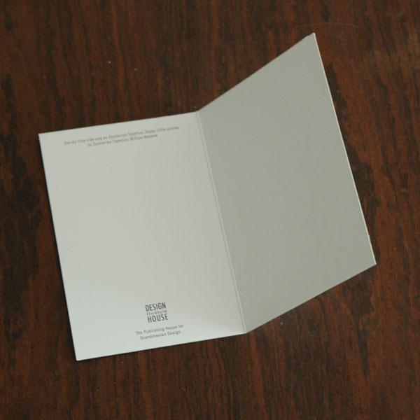エルサべスコフ・カード・Winter Hare(冬の野うさぎ)・DESIGN HOUSE stockholm(デザインハウス ストックホルム)