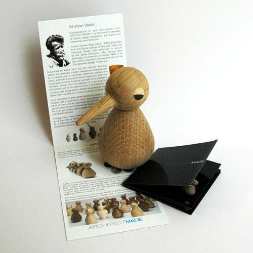 Bird(バード)ラージサイズ/ナチュラルオーク/ARCHITECTMADE(アーキテクメイド)/木製オブジェ