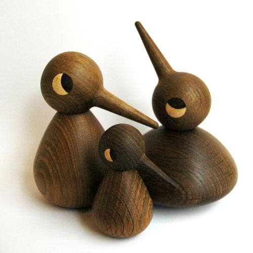 Bird(バード) スモールサイズ Smoked Oke(スモークオーク) ARCHITECTMADE(アーキテクトメイド) 北欧デンマークオブジェ置物 410