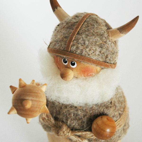 Viking(ヴァイキング)MAN(マン)/エストニア・ハンドメイド木製オブジェ・置物