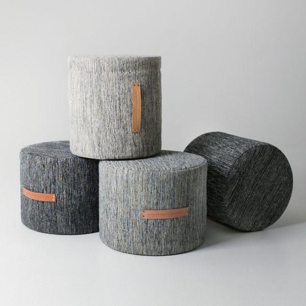 BJORK STOOL(ビジョーク・スツール)/Lowサイズ/H35cm/ライトグレー/DESIGN HOUSE stockholm(デザインハウス ストックホルム)