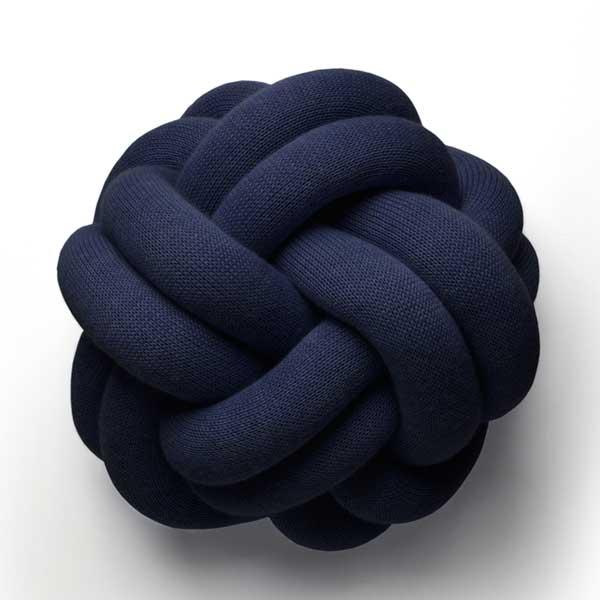 Knot Cushion(ノットクッション)30cm ネイビー  DESIGN HOUSE stockholm(デザインハウス ストックホルム)