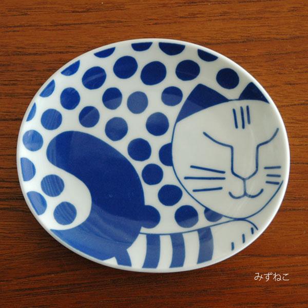 Lisa Larson(リサ・ラーソン)ごのねこ豆皿/有田焼/Lisa Larson JAPAN Series(ジャパンシリーズ)