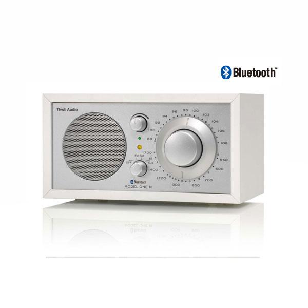Model One BT(モデル・ワン ビーティー)Bluetooth対応モデル ホワイト×シルバー ラジオ/Tivoli Audio(チボリオーディオ)