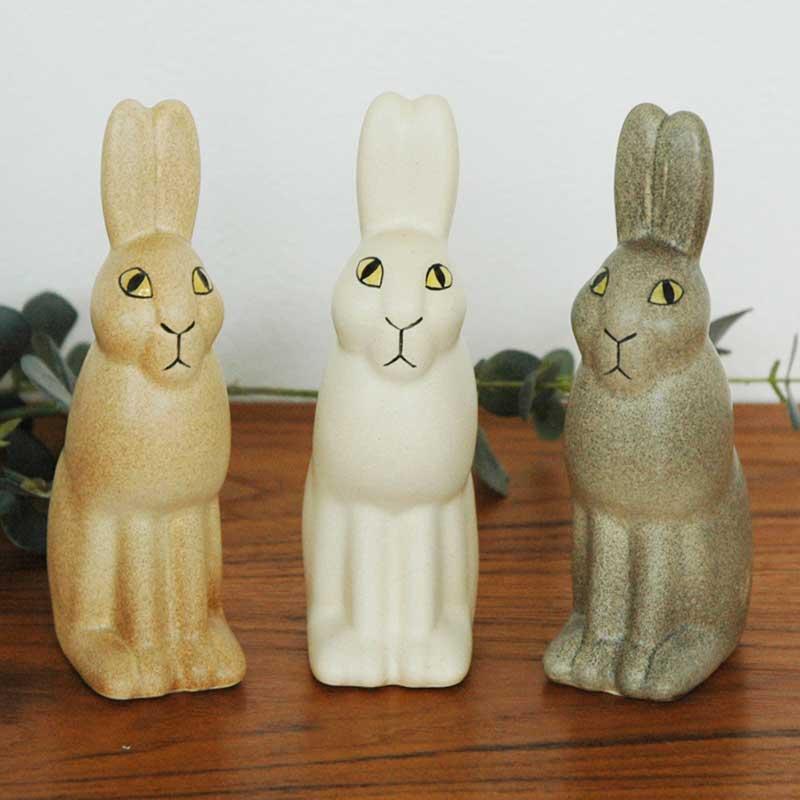 Rabbit(ウサギ) スカンセン動物園Lisa Larson(リサ ラーソン)北欧オブジェ・置物