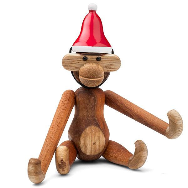 Kay Bojesen(カイ・ボイスン) Santa's Cap(サンタキャップ)MONKEY(モンキー)Sサイズ用 木製オブジェ デンマーク