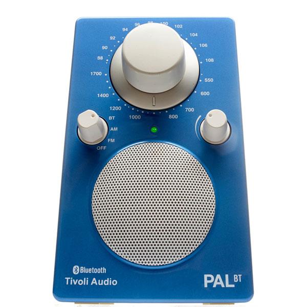 PAL BT(パル・ビーティー)Bluetooth対応モデル ブルー ポータブルラジオ/Tivoli Audio(チボリオーディオ)