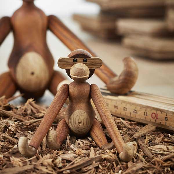 Kay Bojesen(カイ・ボイスン) MONKEY(モンキー)ミニサイズ 木製オブジェ デンマーク