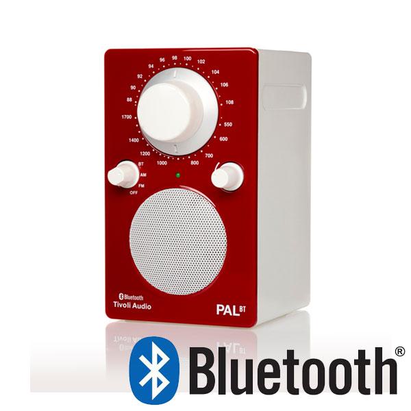 PAL BT(パル・ビーティー)Bluetooth対応モデル レッド ポータブルラジオ/Tivoli Audio(チボリオーディオ)