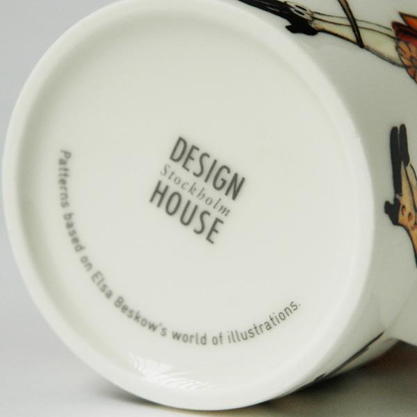 【販売終了】エルサべスコフ・マグカップHare(野うさぎ)・DESIGN HOUSE stockholm(デザインハウス ストックホルム)