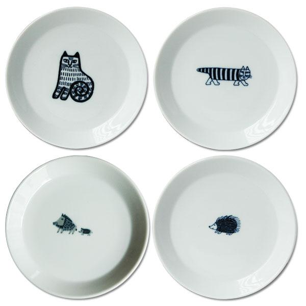Lisa Larson(リサ・ラーソン)豆皿(ししとうり・マイキー・ハリエット・NINACAT)Japan Seriesジャパンシリーズ・波佐見焼