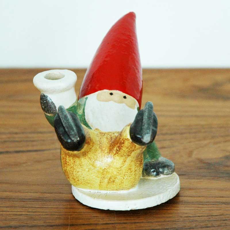 サンタ スケーティング Lisa Larson(リサ ラーソン) クリスマス 北欧オブジェ・置物