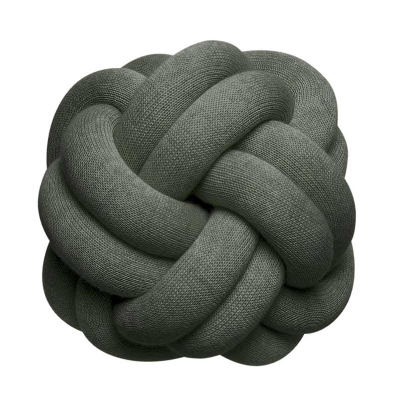 Knot Cushion(ノットクッション)30cm Forest Green(フォレストグリーン)DESIGN HOUSE stockholm(デザインハウス ストックホルム)