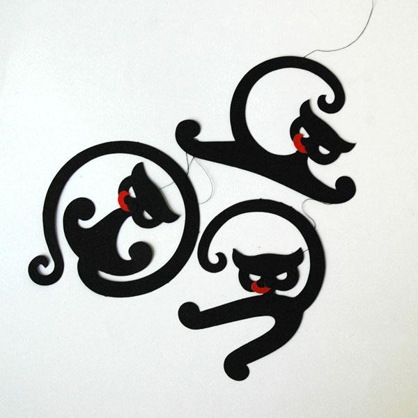 Cat Black(キャット・ブラック)モビール Livingly(リビングリー) 北欧デンマーク
