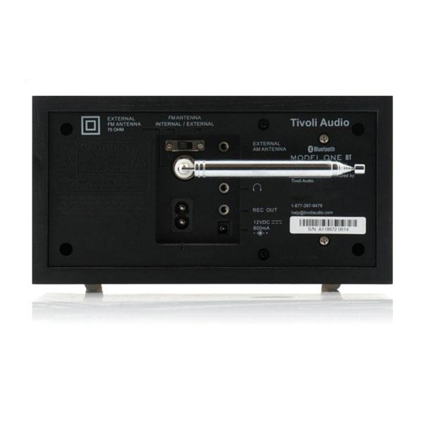 Model One BT(モデル・ワン ビーティー)Bluetooth対応モデル ブラック×ブラック ラジオ/Tivoli Audio(チボリオーディオ)