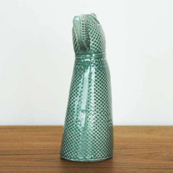 Wardrobe Vases Dress(ワードローブ・ドレス)ミントグリーン Lisa Larson(リサラーソン) フラワーベース オブジェ