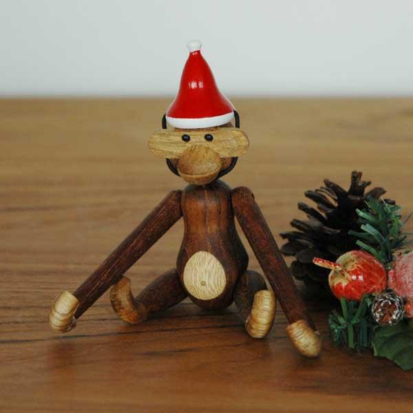 Kay Bojesen(カイ・ボイスン) Santa's Cap(サンタキャップ)MONKEY(モンキー)ミニサイズ用 木製オブジェ デンマーク