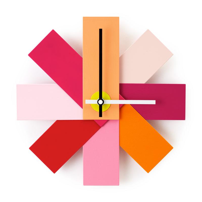 Watch Me Wall Clock (ウォッチミー)ピンク 壁掛け時計 normann COPENHAGEN(ノーマンコペンハーゲン)