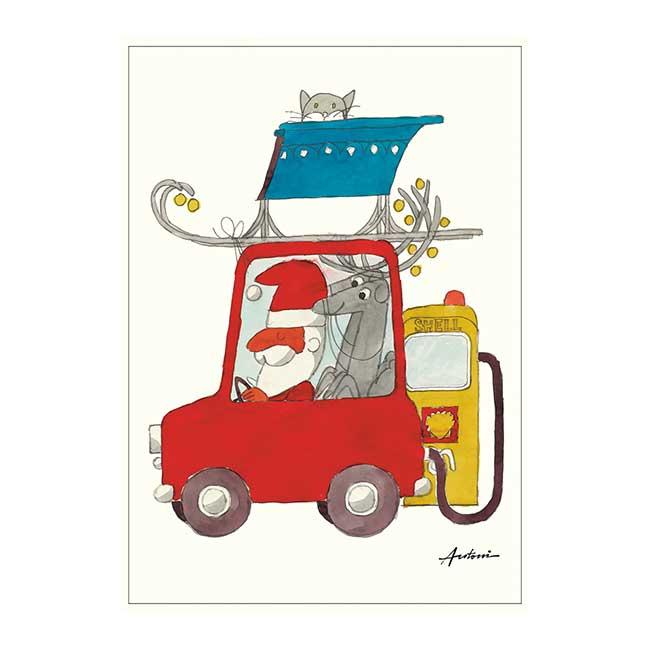 Ib Antoni (イブ・アントーニ) X'mas Postcardクリスマスポストカード