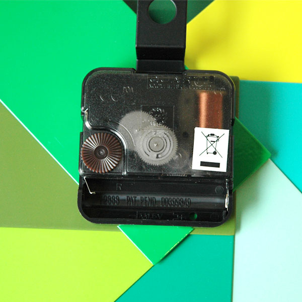 Watch Me Wall Clock (ウォッチミー)グリーン 壁掛け時計 normann COPENHAGEN(ノーマンコペンハーゲン)