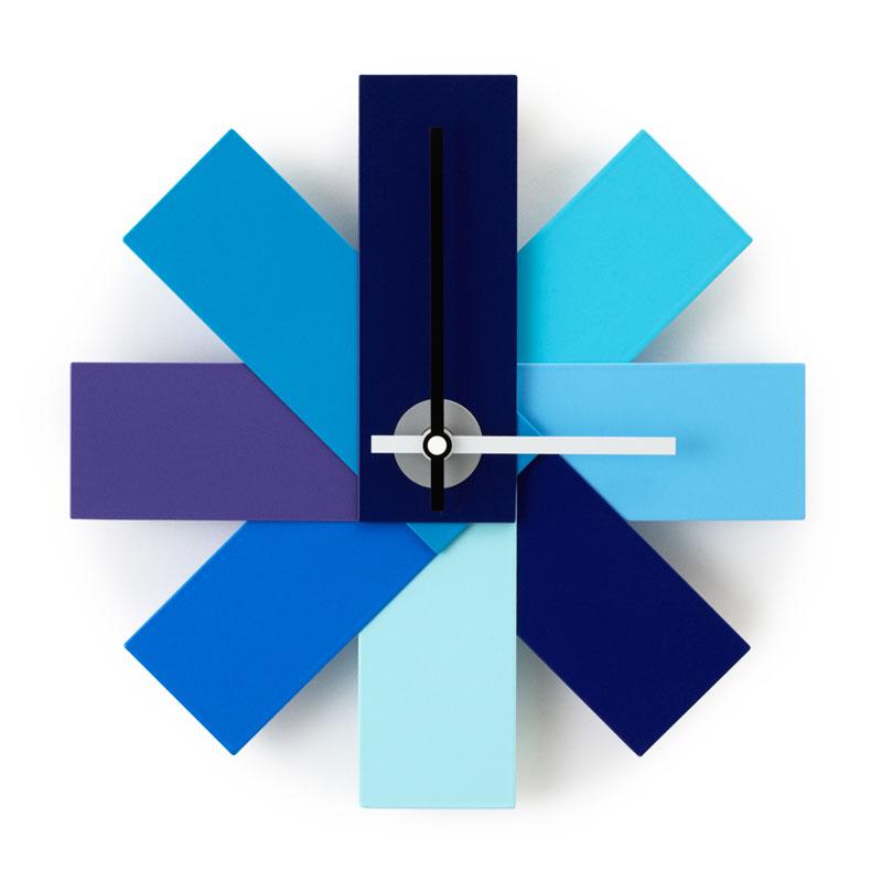 Watch Me Wall Clock (ウォッチミー)ブルー 壁掛け時計 normann COPENHAGEN(ノーマンコペンハーゲン)